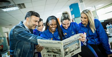Tenerife se prepara para acoger la Copa de la Reina de voleibol femenino