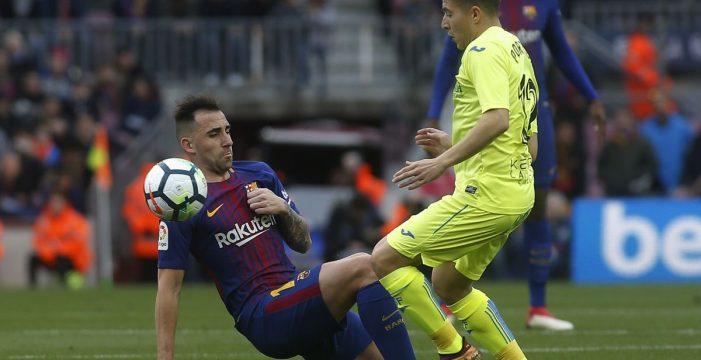 El Barcelona se estrella contra el muro del Getafe