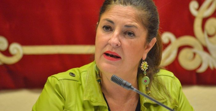"""Allende exige soluciones al """"colapso"""" en el Puerto de Los Cristianos"""