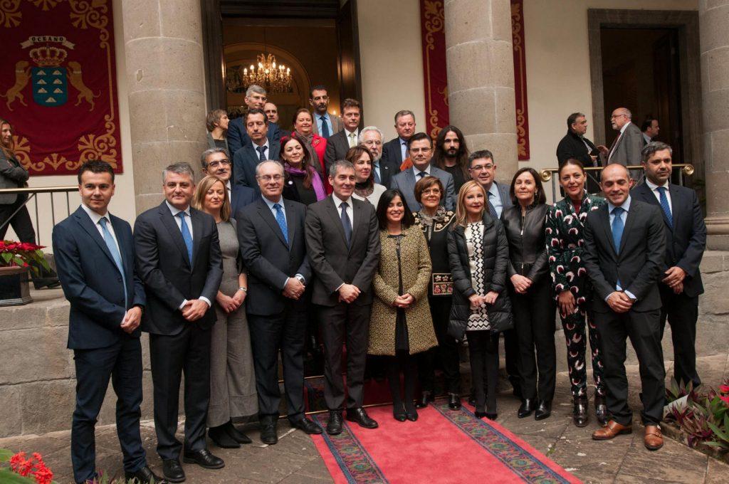 Conferencia de Presidentes de Parlamentos Autonómicos (Coprepa), en Santa Cruz de Tenerife. / FRAN PALLERO