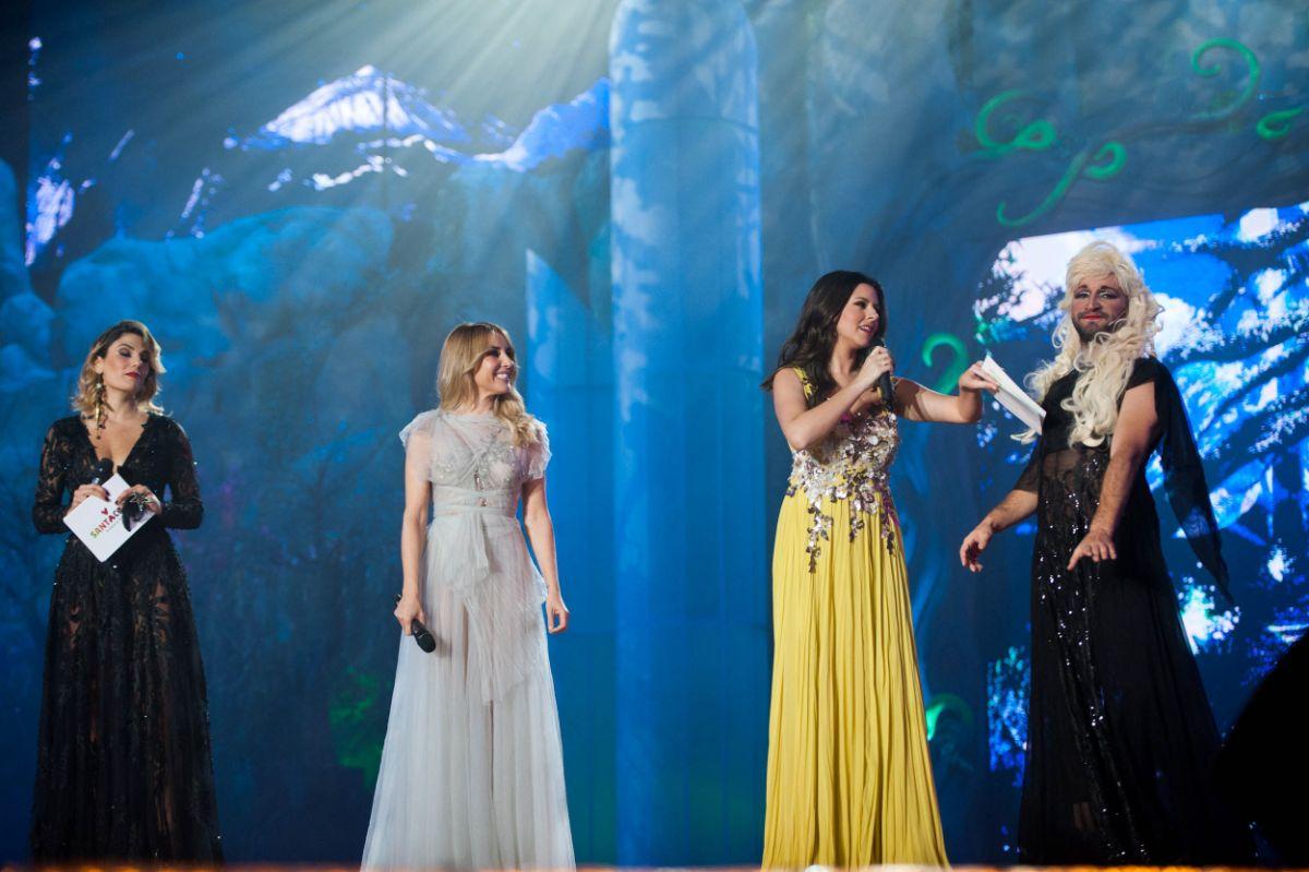 Las tres presentadoras fueron el hilo conductor de la Gala. Fran Pallero