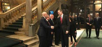 """El rey apela a la """"colaboración institucional"""" para mantener el MWC"""