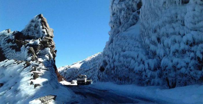 Continúa cerrado el acceso al Roque de Los Muchachos por Santa Cruz