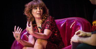 Diana Aller, periodista, guionista, escritora y 'dj'. / FOTO: Fran Pallero