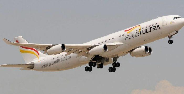 Plus Ultra iniciará vuelos regulares a Caracas desde Tenerife y Madrid