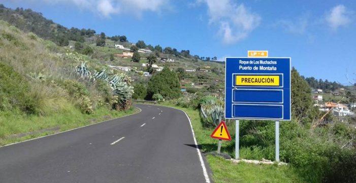 Abren la carretera de acceso al Roque por Santa Cruz