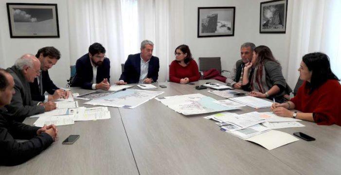 El Cabildo y el Ayuntamiento de Candelaria coordinan las obras del Plan de Cooperación Municipal 2018-2020