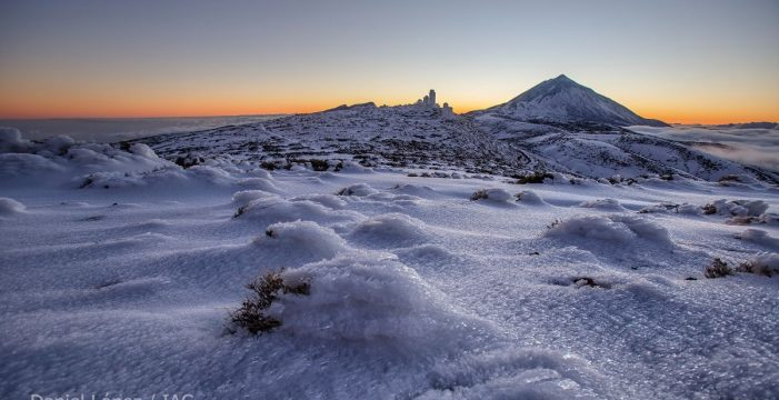 """La Aemet advierte de un repunte histórico de CO2 en el Teide: """"No es una buena noticia"""""""
