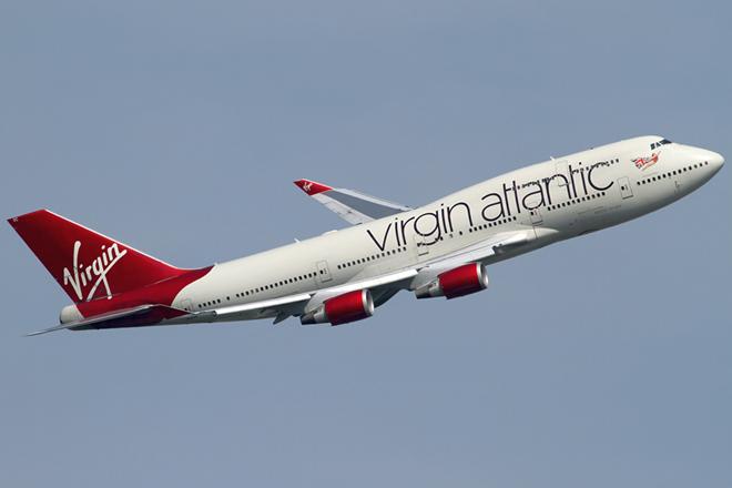 Avión de Virgin Atlantic.