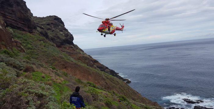 El fallecido en la Punta se despeñó decenas de metros