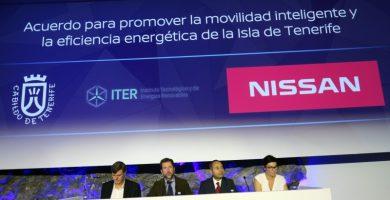 El Cabildo de Tenerife y Nissan firman un acuerdo para impulsar la movilidad eléctrica