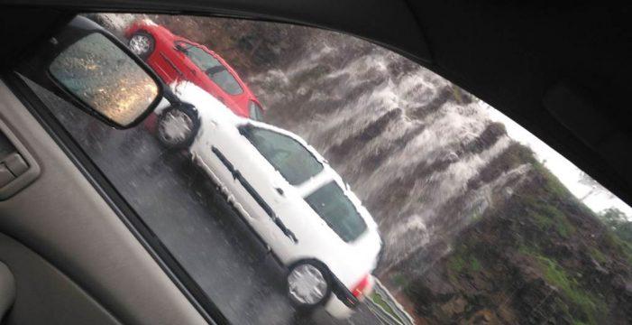 La autopista del Norte, entre ríos y cascadas