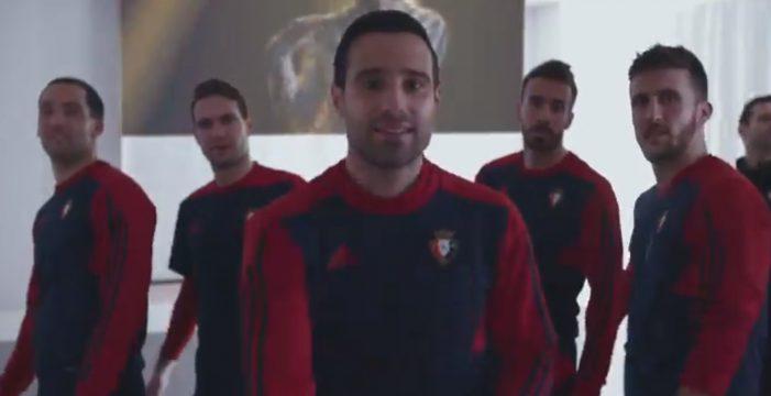 El Osasuna muestra su apoyo a Amaia con este vídeo en Twitter