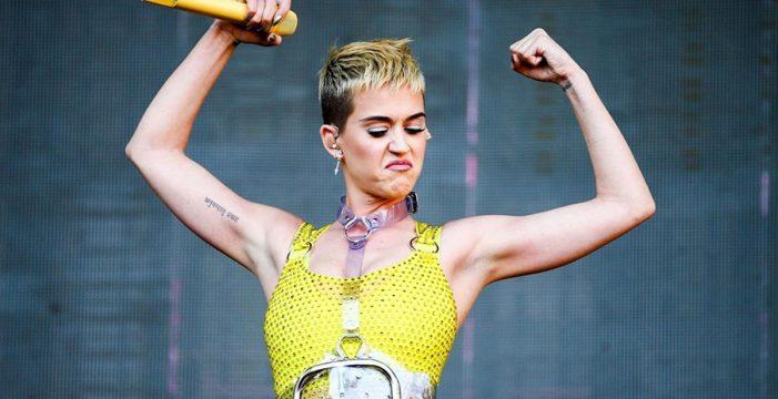 Polémica independentista por el anuncio del próximo concierto de Katy Perry