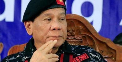 El presidente Duterte. / EP