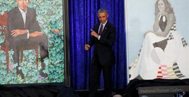 Retratos de los Obama para el museo Smithsonian. / EP