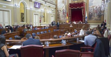 Parlamento de Canarias. / EP