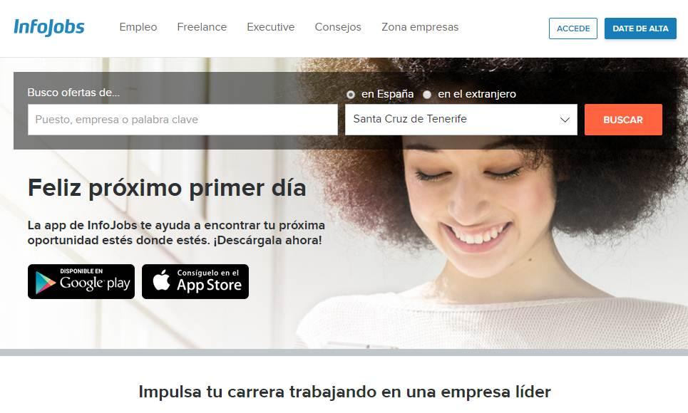 Las ofertas de empleo en infojobs crecen un 99 1 en canarias - Ofertas canarias enero ...