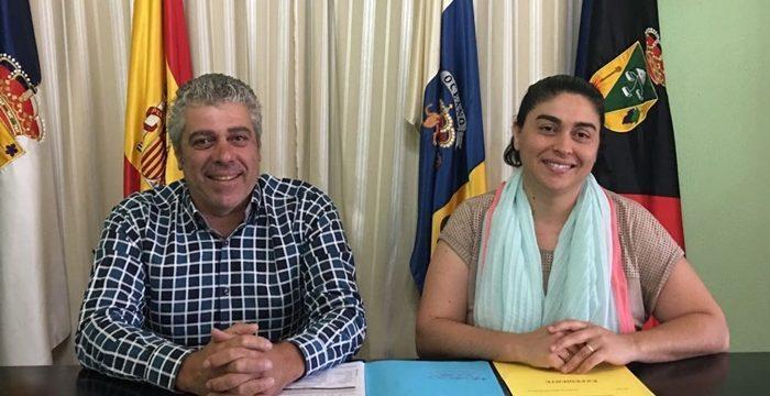 La alcaldesa de Fuencaliente se desmarca de la reunión con Clavijo