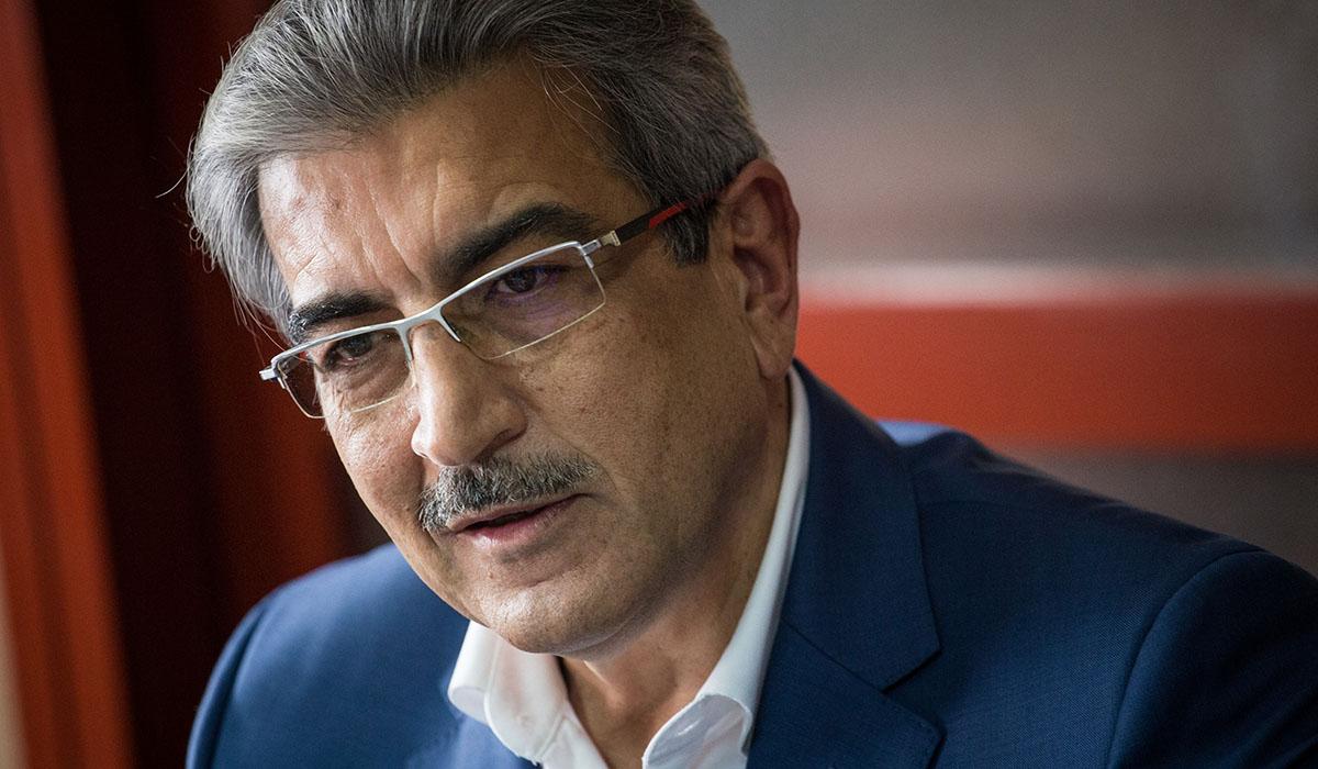 Román Rodríguez, líder de Nueva Canarias. Andrés Gutiérrez