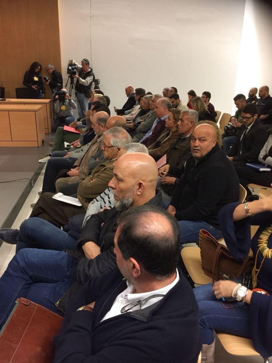 Imagen del juicio que celebra la Audiencia de Las Palmas. Europa Press