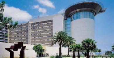 Fachada del Hospital Universitario de Canarias. DA
