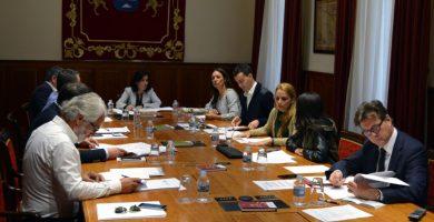 Reunión de la Junta de Portavoces del Parlamento de Canarias. DA