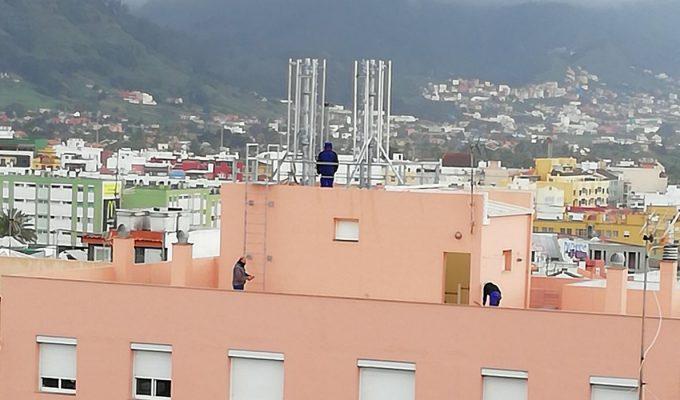 Avance con los propietarios del edificio del Coromoto para intentar trasladar la antena