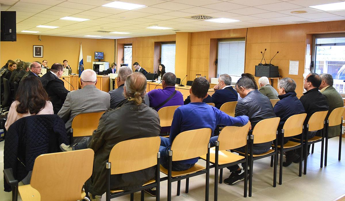 El juicio se celebra desde el pasado lunes en la Audiencia Provincial de Santa Cruz de Tenerife. Sergio Méndez