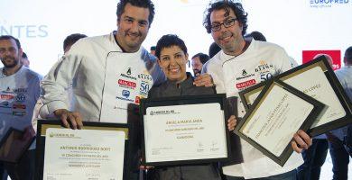 Dos chefs de Andalucía, en la final del VII Concurso Cocinero del Año