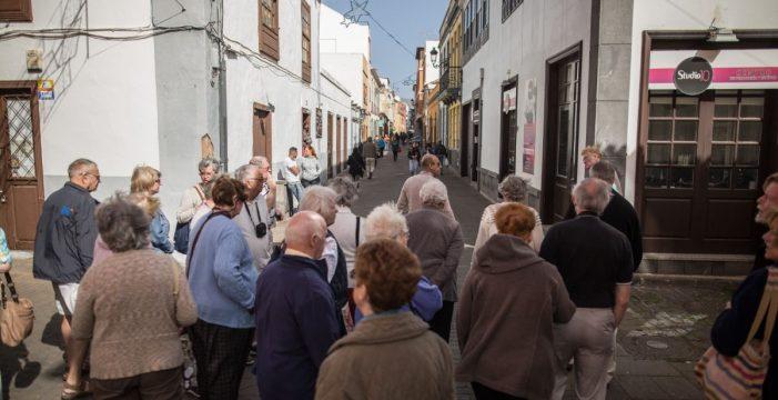 El número de turistas alojados en La Laguna aumentó el 28% en 2017