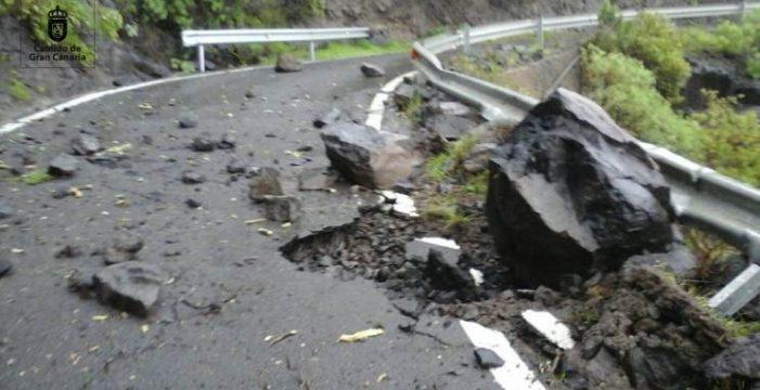 El viento principal causa de las incidencias la borrasca en Gran Canaria