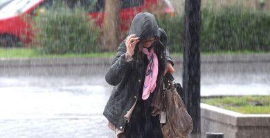 El temporal trae mucha lluvia, hoy da una tregua y mañana empeora