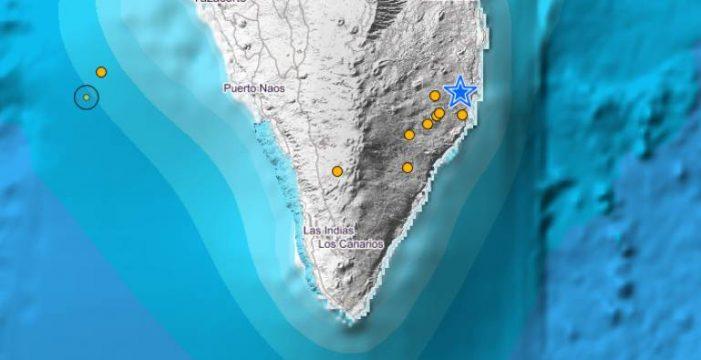 La Palma registra hasta 9 seísmos en dos días