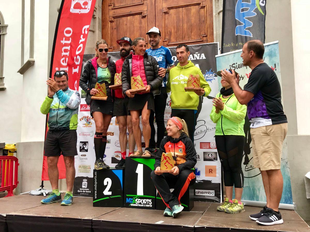 Resultado de imagen de Agustín Reyes y Myriam Guillot-Boisset, vencedores de la Subida a Tágara