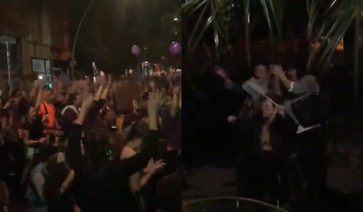 8M: Este gesto a una anciana manifestante en Tenerife