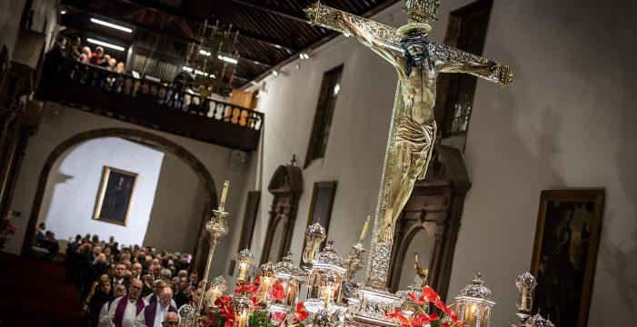 El Cristo de La Laguna regresa a su santa casa