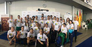 Los nadadores del Ademi Tenerife formaron parte de la selección canaria que participó en el Campeonato de España ParaSwimming de Castellón el pasado fin de semana. Ademi