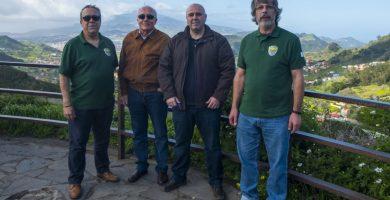 Miembros del nuevo colectivo que se originó en el municipio con el objetivo de incrementar la conciencia proteccionista en la sociedad de las Islas. DA