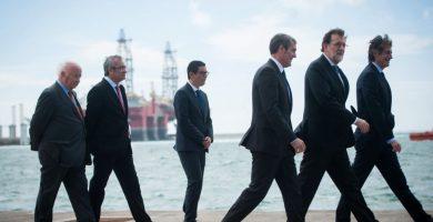 Rajoy inaugura el puerto de Granadilla | Foto: Fran Pallero