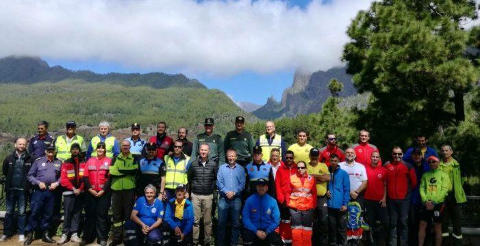 Reventón Trail Aguas de La Palma realiza con éxito su primer simulacro de seguridad