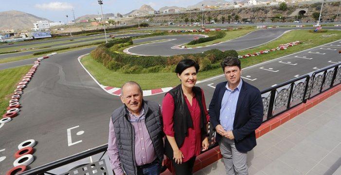 El Cabildo y la Federación Tinerfeña de Automovilismo ponen en marcha la Copa y el Trofeo Tenerife 2030 de karting