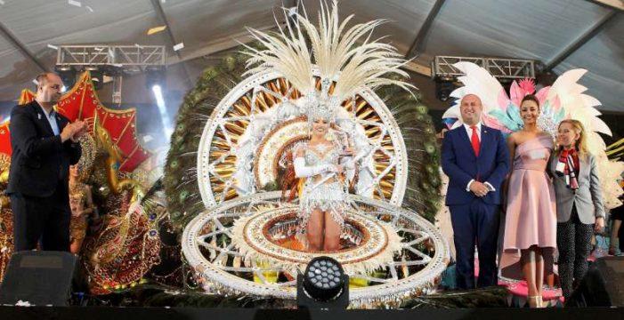 Beatriz Álvarez Herrera es la nueva reina del Carnaval de Granadilla de Abona