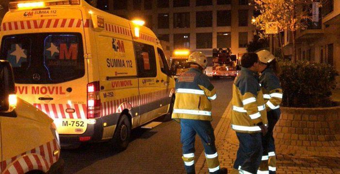 Dos niños fallecen en un incendio en Getafe y hallan a su padre muerto tras ser arrollado por un tren