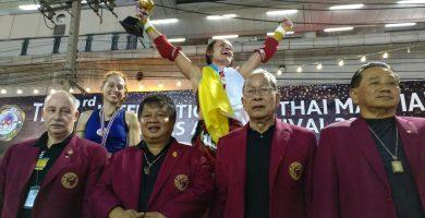 La tinerfeña Cathaysa Delgado se proclama campeona del mundo de Muy Thai Pro Am