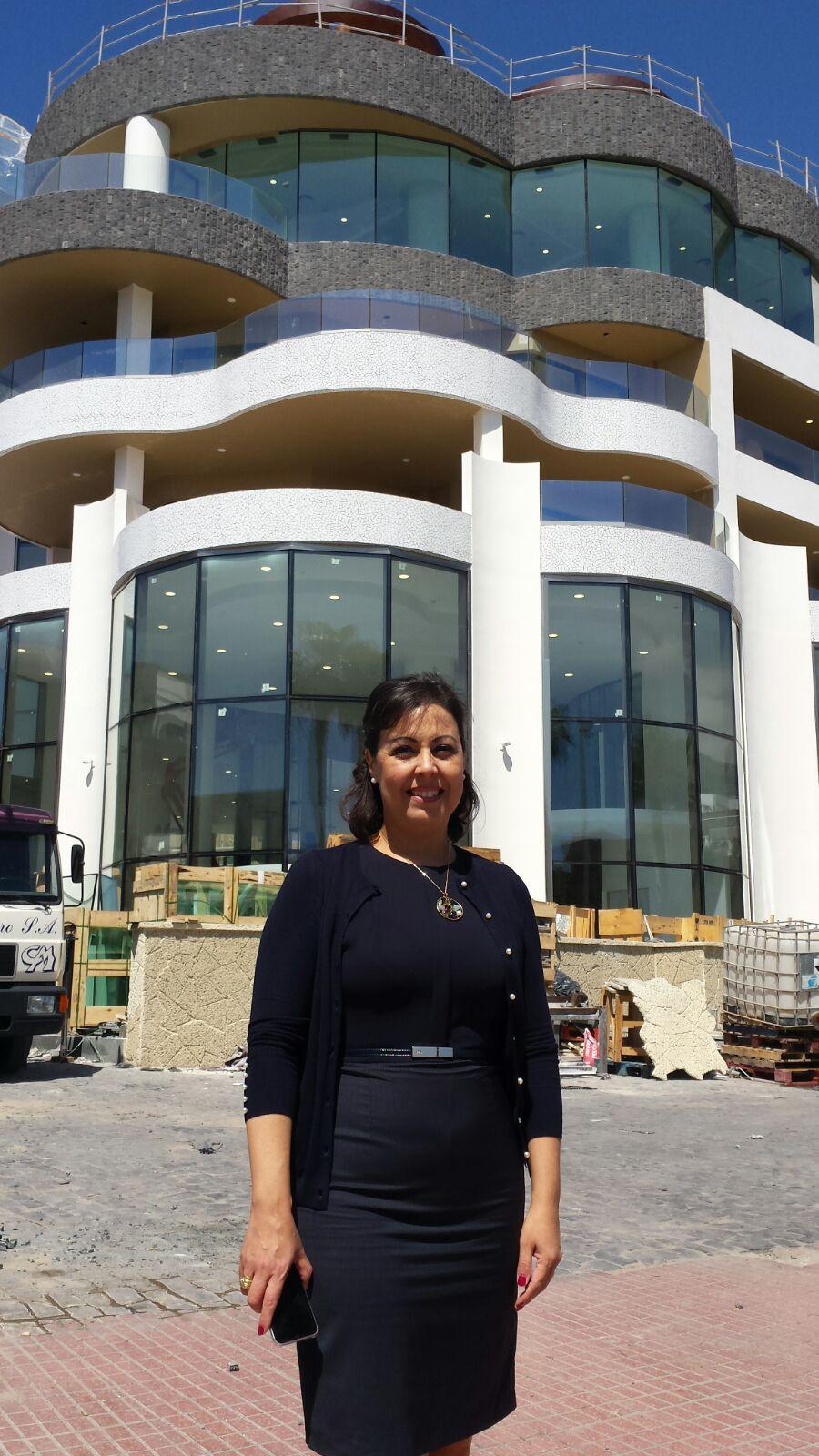 María Victoria López, consejera delegada de la división hotelera del Grupo Fedola. J. C. M.