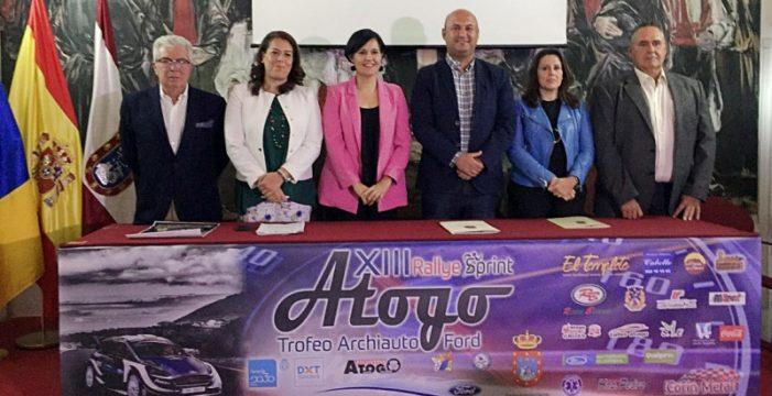 Presentado el XIII Rally Sprint de Atogo Trofeo Archiauto Ford