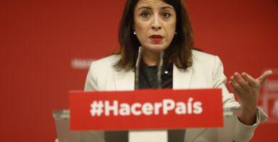 Adriana Lastra, vicesecretaria general del PSOE. | EP