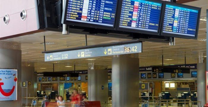 Más de 3,5 millones de pasajeros llegaron en febrero a los aeropuertos canarios