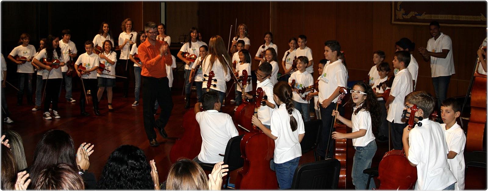 Barrios Orquestados es un proyecto social de carácter pedagógico y con fines artísticos.